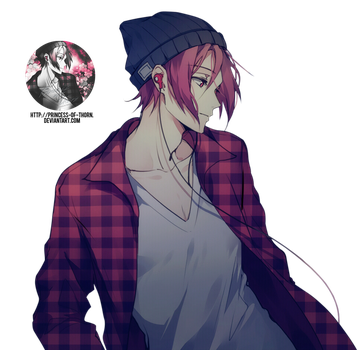 Rin Matsuoka Render #32 by Princess-of-Thorn