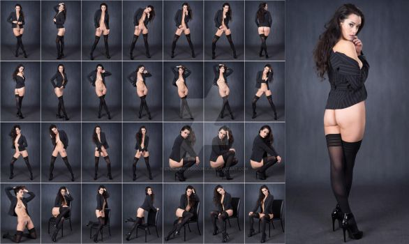 Stock: Bree Sexy Office Stockings - 28 Images by stockphotosource