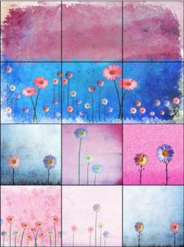 Free Punchy Floral Textures by ibjennyjenny