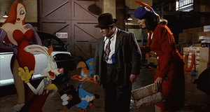 Bonkers in Who Framed Roger Rabbit by DiggerShrew