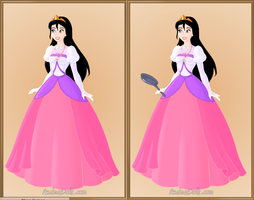 Me in a Traditional Disney Gown by roseprincessmitia
