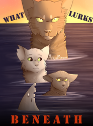 What Lurks Beneath (Cover) by ArualMeow