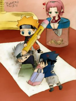 Naruto: The Great Artists by basabeo