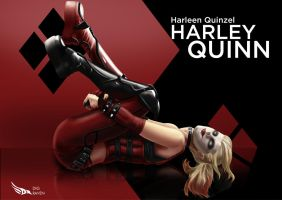 Harley Quinn 3 by Digraven