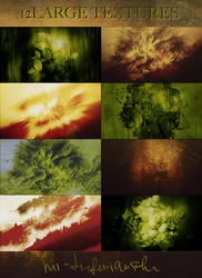 12 Large Textures pack by mr-tiefenrausch