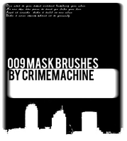 009 Mask Brushes -CRIMEMACHINE by crimemachine