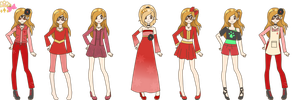 PDA- Remi Winter-Spring outfits by xMagical-Ichigo-Tanx