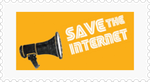 Save The Internet Stamp by NightmareBear87