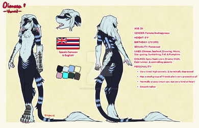 Dianna Official Ref .:Com:. by Toboe-chan92