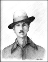 Remeber D legend BHAGAT SINGH by sagarlike