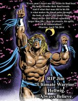 Ultimate Warrior - tribute by Simon-Williams-Art
