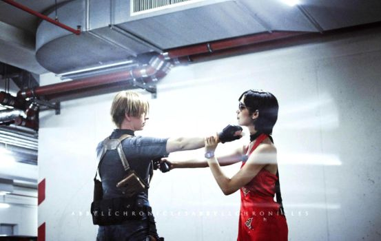 Leon VS Ada by Kallisi