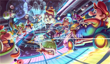 RAINBOW ROAD by BabaKinkin