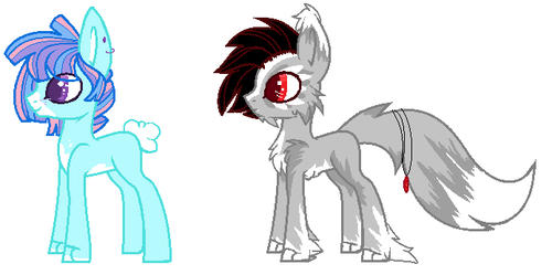 Mlp: Customs by BlackTempestBrony