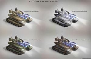 Lightning Cruiser Tank by KaneNash