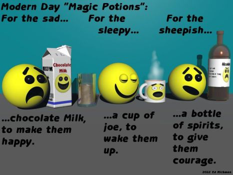 Potions - text by Ack42