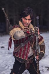 Steel for humans / Eskel The Witcher Cosplay by KADArt-Cosplay