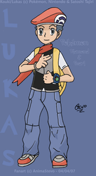 Lukas -Pokemon DP- by AnimaStevo