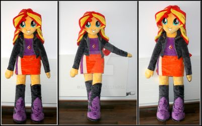 Sunset Shimmer plush doll by Lavim