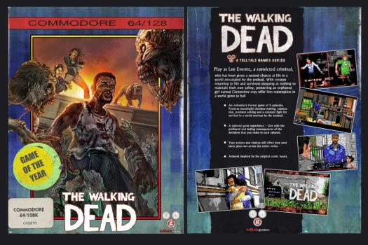 Walking Dead game for the Commodore 64! by NickBounty
