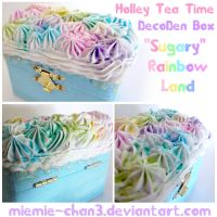 Rainbow Land DecoDen Box by miemie-chan3