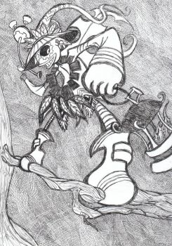 Skull kid by Jenra-the-hh