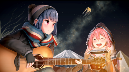 Sing with Rin and Nadeshiko by Andifaap