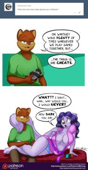 PnW Ask-A-Character: Gaming Wins by PeterAndCompany