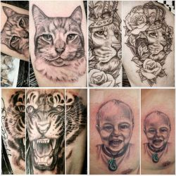 Tattoos by hatefueled