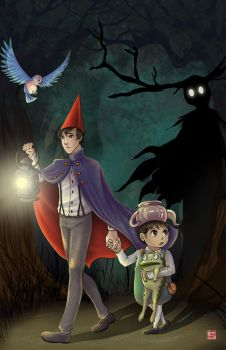 Over the Garden Wall by TyrineCarver