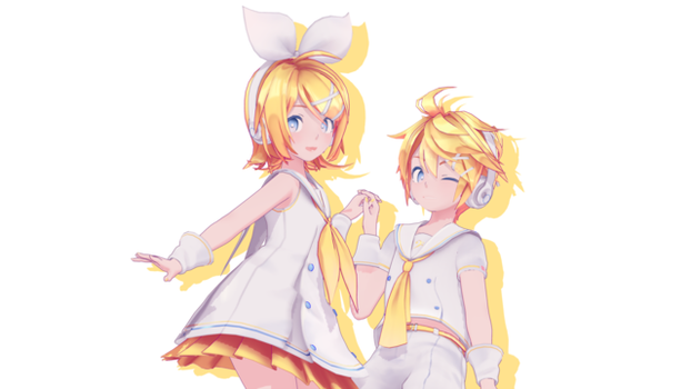 [MMD/DL] Len and Rin [mmd/dl] by BrightShadowMMD