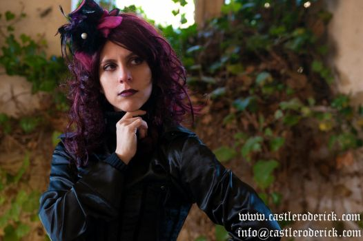 Lady Raven Victorian Stock by eLLeRRe