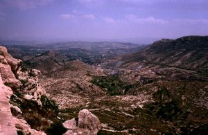 View from Aledo - Prov. Murcia - Spain by Woscha