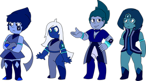 SU Cobalt Adopts (1/4 OPEN) by SmilesUpsideDown