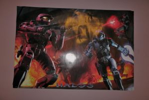 Halo 3 poster by dragonfire70