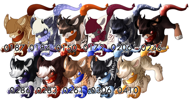 YCH: Dire Collection by SlayersStronghold