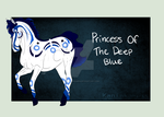 9912 Princess Of The Deep Blue by Kaninkompis