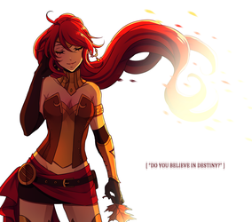 RWBY: Destiny by Rinslettuce