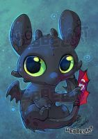 Smaugust Day 1 Toothless by tikopets