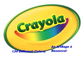 134 Crayola Colors by Writer-Colorer