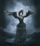 The lady of crows by CrisestepArt
