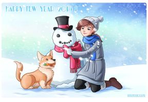 Happy New Year ! by HollyBell