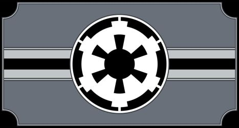 Galactic Empire Flag by OSFlag