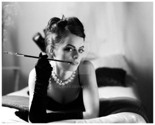 Inspired by Audrey Hepburn by LoloRay