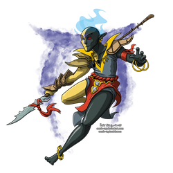 Vivec Power! by Comic-Ray