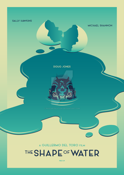 THE SHAPE OF WATER Poster Art by RicoJrCreation