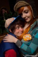 You're my hero little man by PookieBearCosplay
