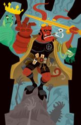Hellboy 20th by Haaspodge