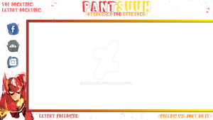TWITCH STREAM OVERLAY No. 1 by xHinchen