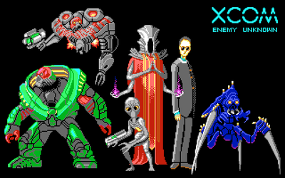 XCOM Aliens by drysmian